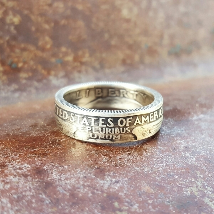 Silver 1997 Quarter Coin Ring  - midnightjo | ello