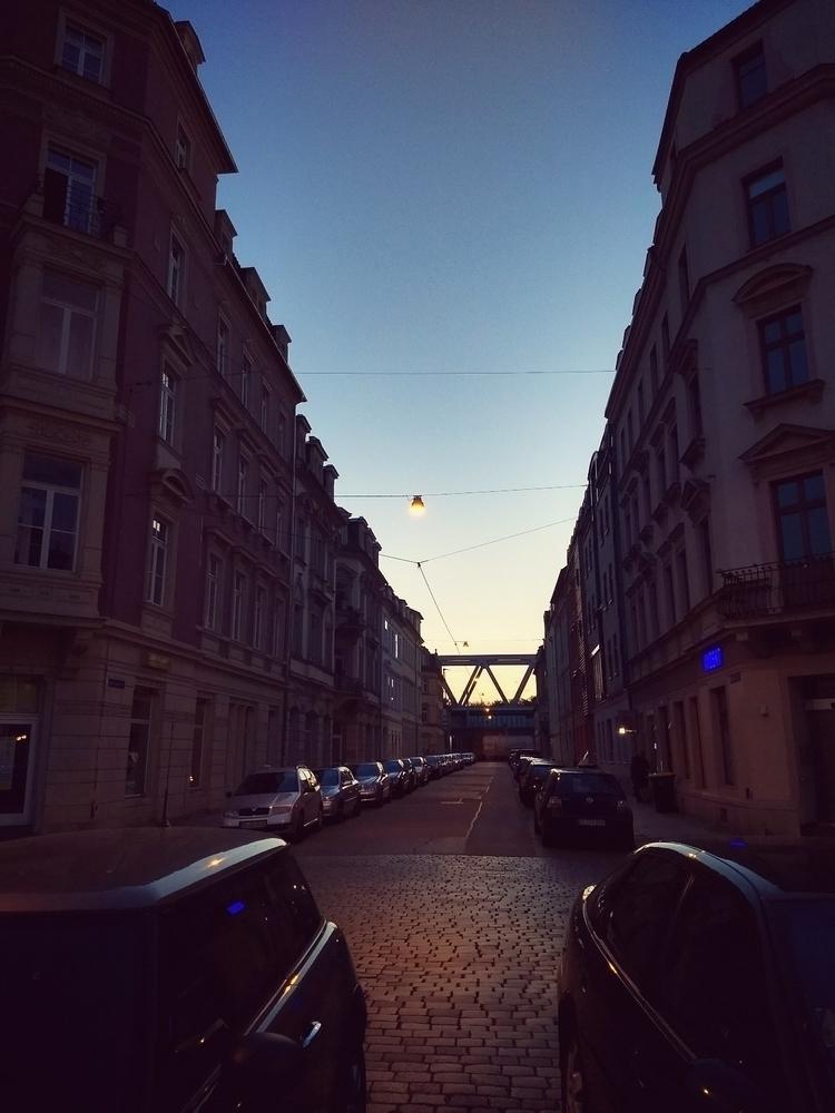 evening, Neustadt, Dresden, city - claudio_g_c | ello
