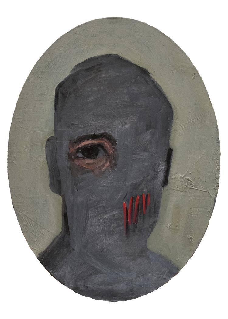 Chrome Portrait) / Oil Board 30 - armandocabba | ello