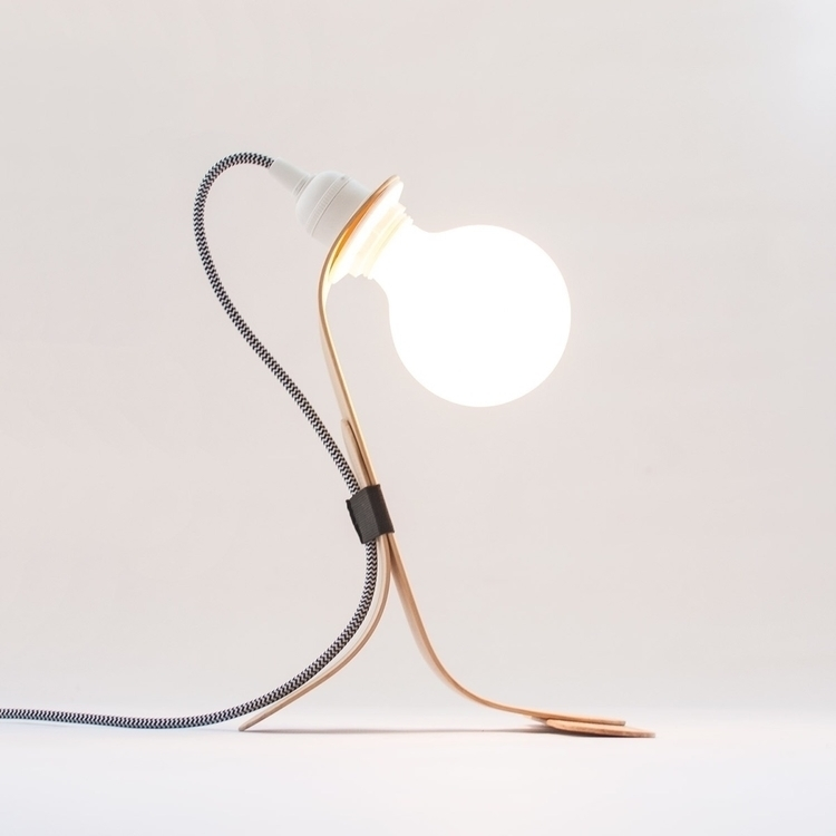 Handmade - modern table lamp st - oitenta | ello