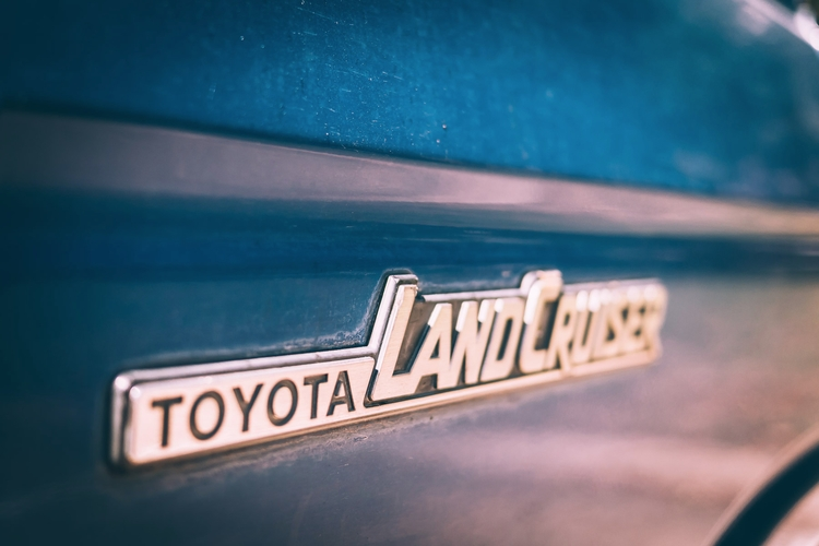 Land Cruiser nameplate Toyota C - mattgharvey | ello