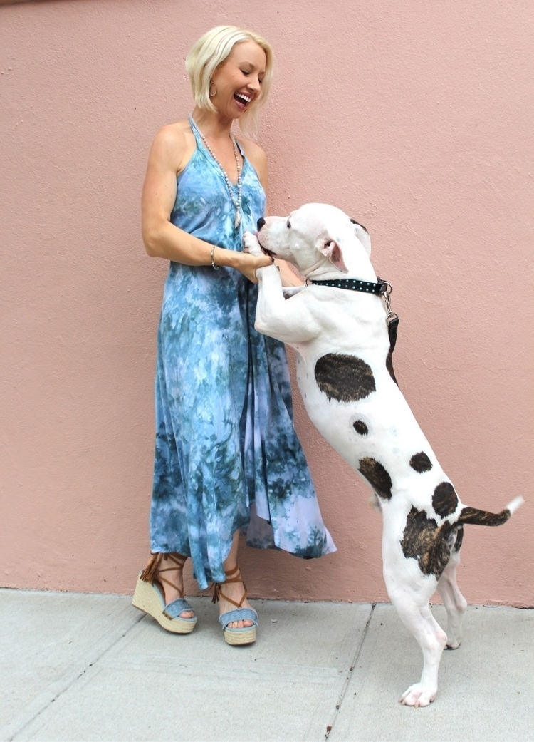 tie-dyed dog fabulous weekend!  - alysonreneenyc | ello