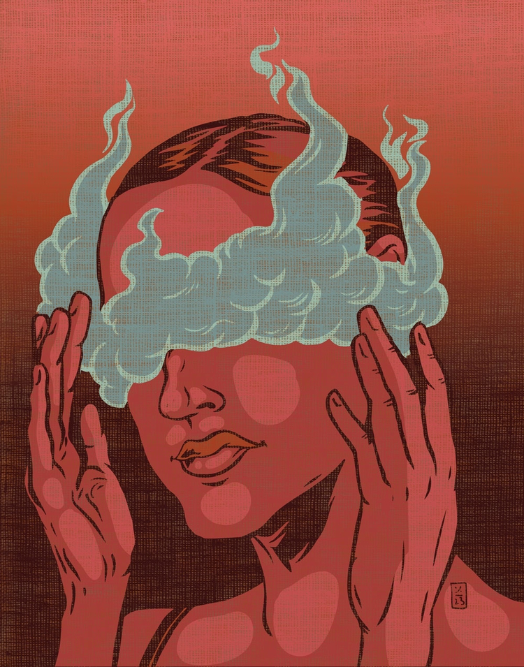 Blinded - illustration - thomcat23 | ello