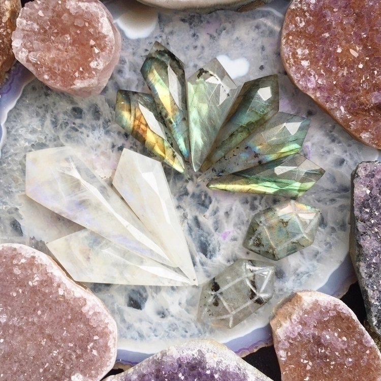 crystal beebs jewelry.  - witchcraft - unicornslovesugarmoonbeams | ello
