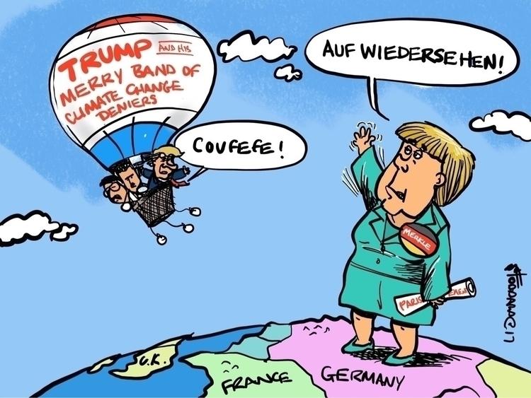 Auf wiedersehen Good Riddance - illustration, - sstoddard | ello