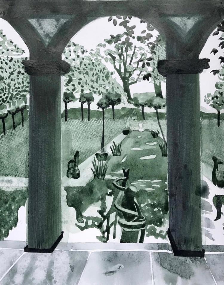 watercolor, illustration, handmade - whitneysanford | ello
