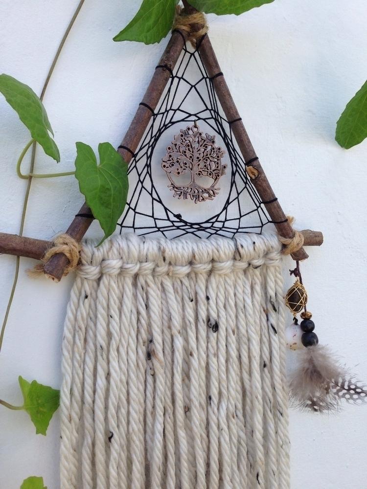 Tree life dreamcatcher:deciduou - bohoelementsdesigns | ello