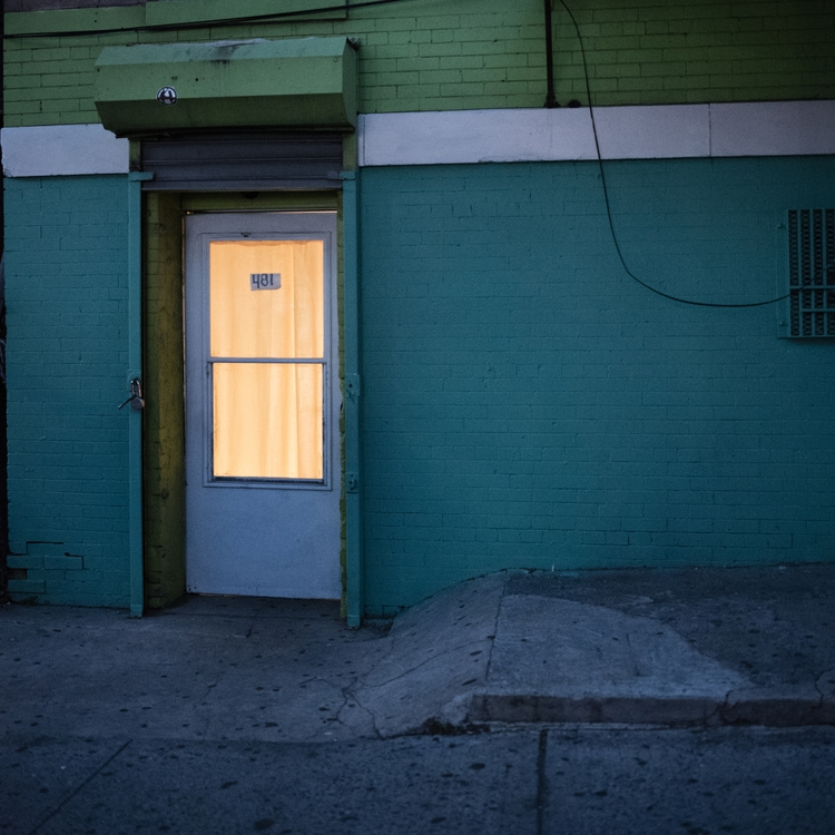 door 481, lonely city series, 2 - heatherpetropoulosphotography | ello