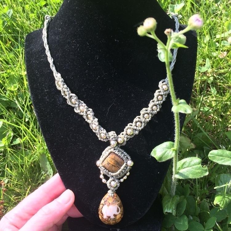 Bohemian Dream worn necklace ch - tangles_ello | ello