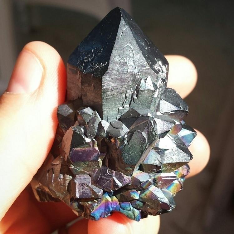Black Aura Spirit Quartz - ellocrystals - dandelionlayne | ello