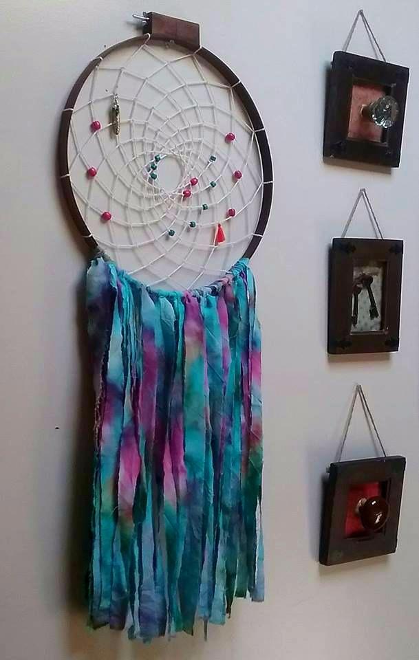 tie-dyed Dreamcatcher - tiedye, bohemian - bohemianfire | ello