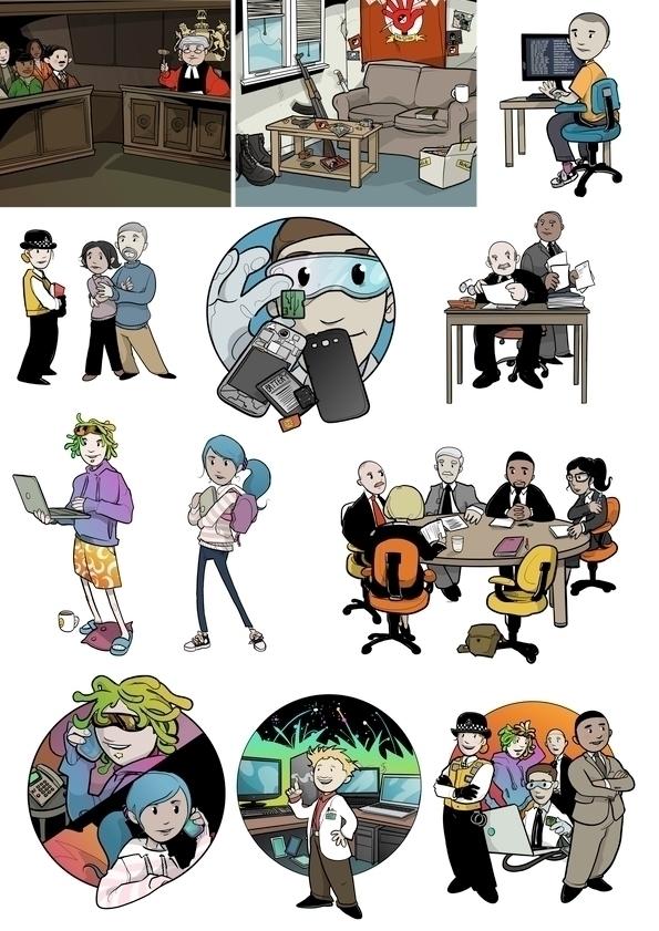 illustration, freelance, artwork - shugmonkey | ello