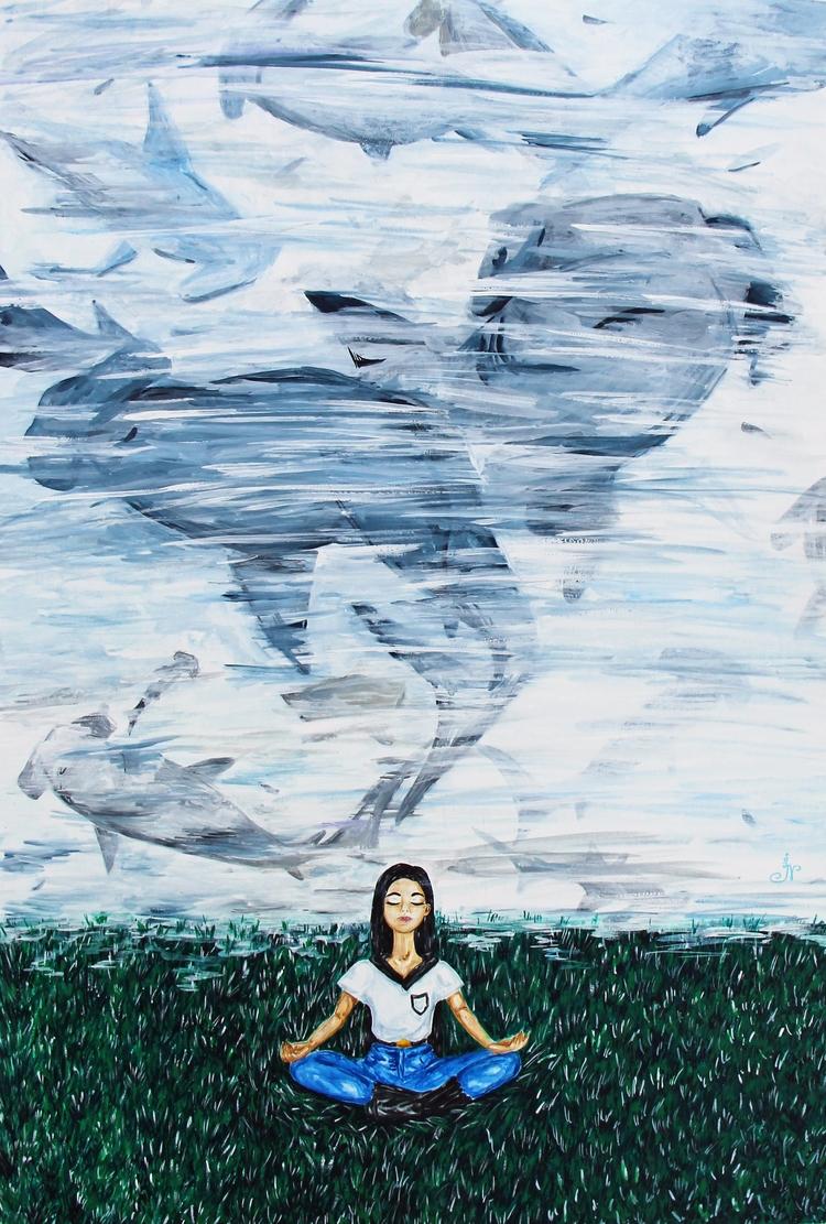 Deep - art, painting, illustration - 13ladyn | ello