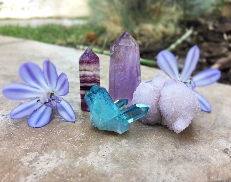 Itsy bitsy teeny weeny crystal  - wildskyla | ello