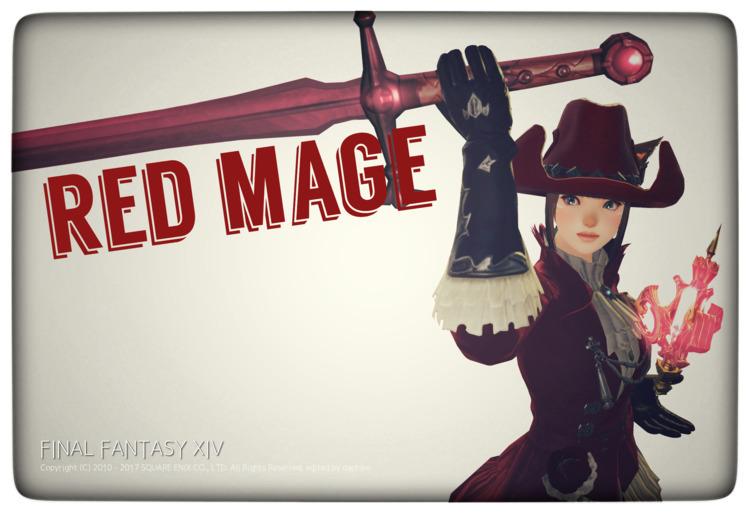 Red Mage風に加工してみました~ - nonodachiko | ello