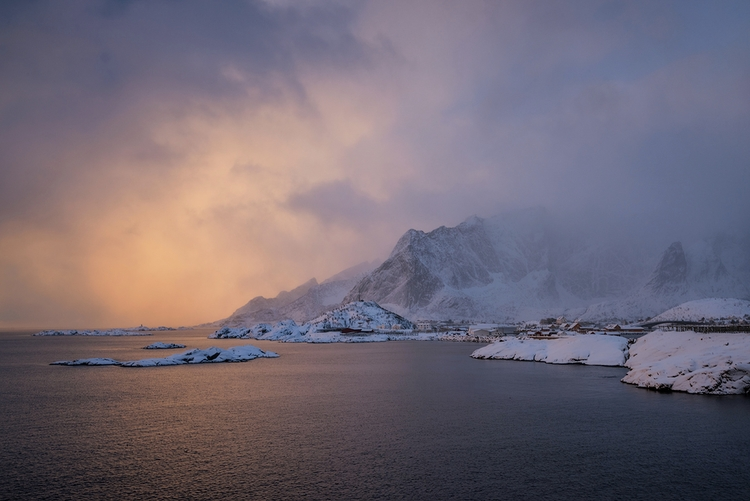 small fishing village Reine Lof - shanewheelphoto | ello