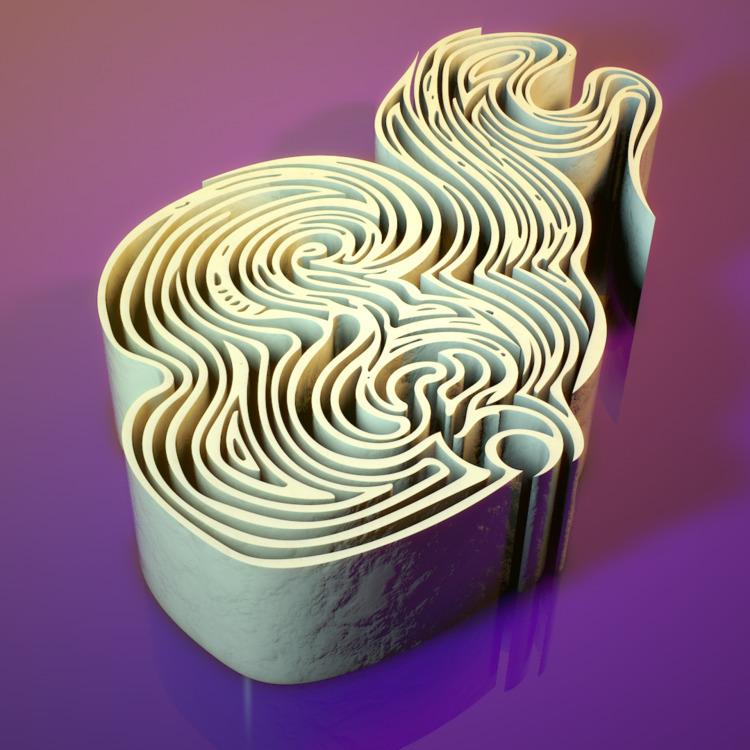 doodle journal 3D render. Illus - micahv | ello