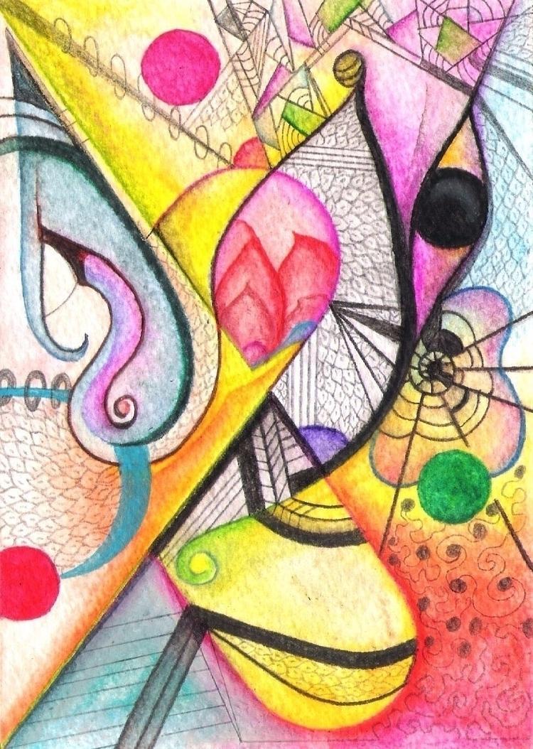 Psychedelic/ Watercolor - III - micmazi | ello