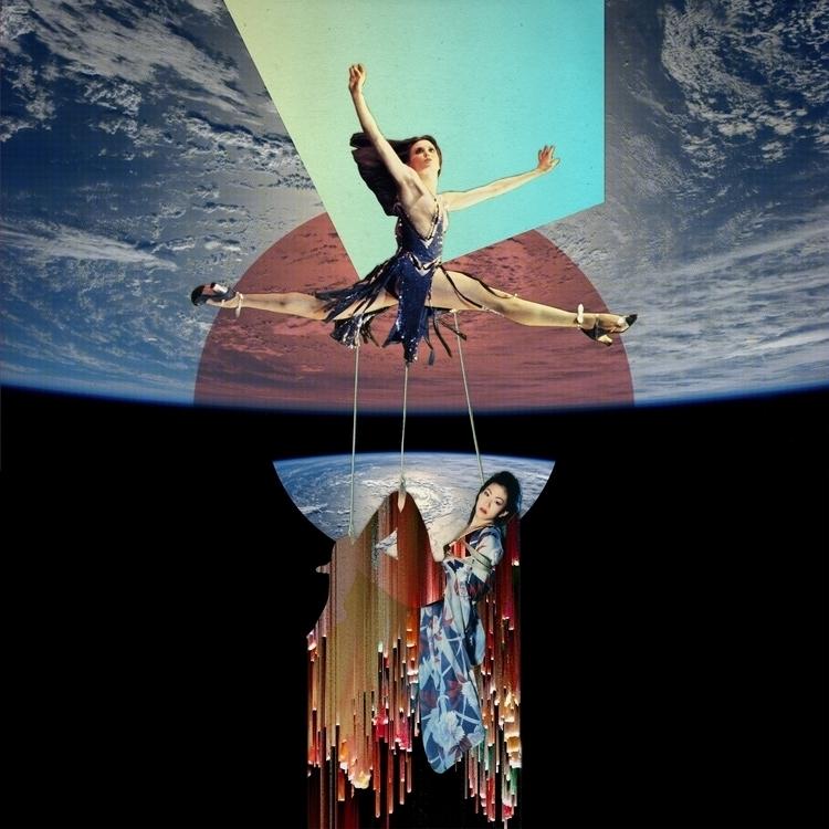 ArakiGlitch 25X25 collage - collageart - santasombra | ello