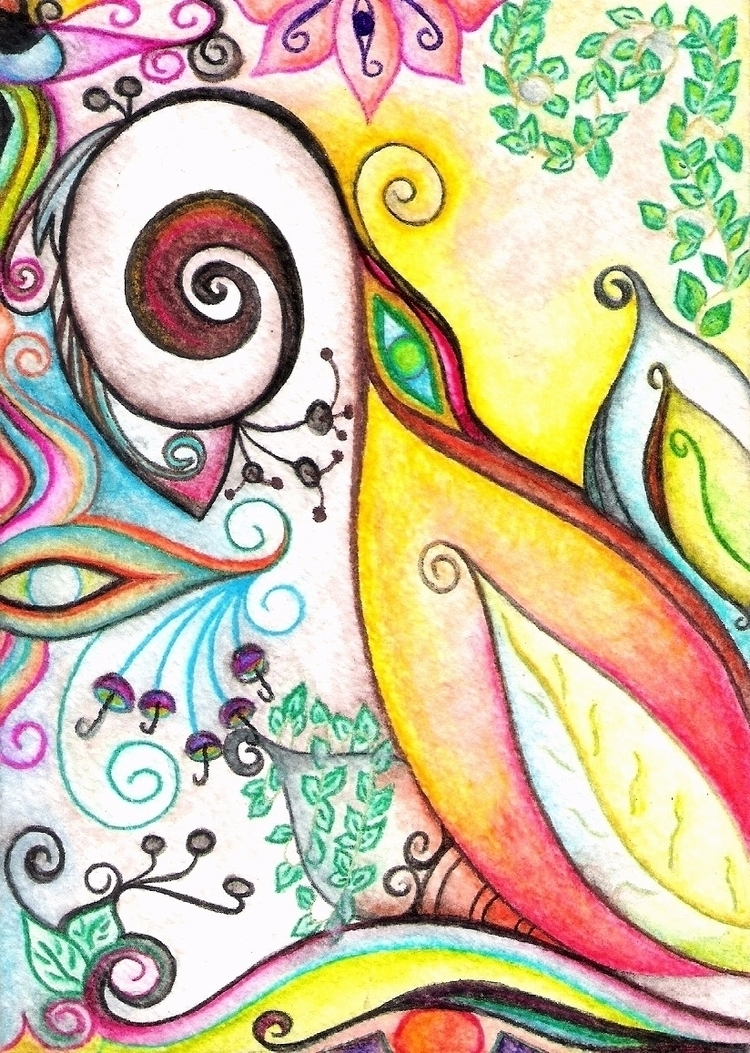 Psychedelic/ Watercolor/ - II - micmazi | ello