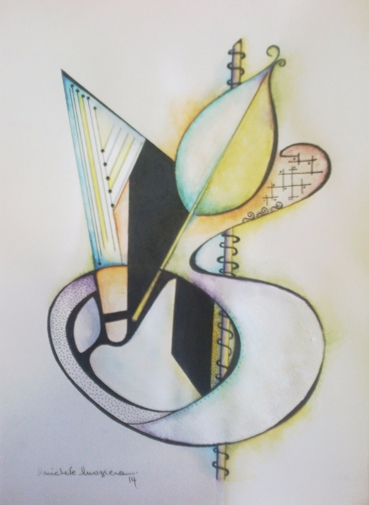 Harp Love - Watercolor/ Nanny - micmazi | ello