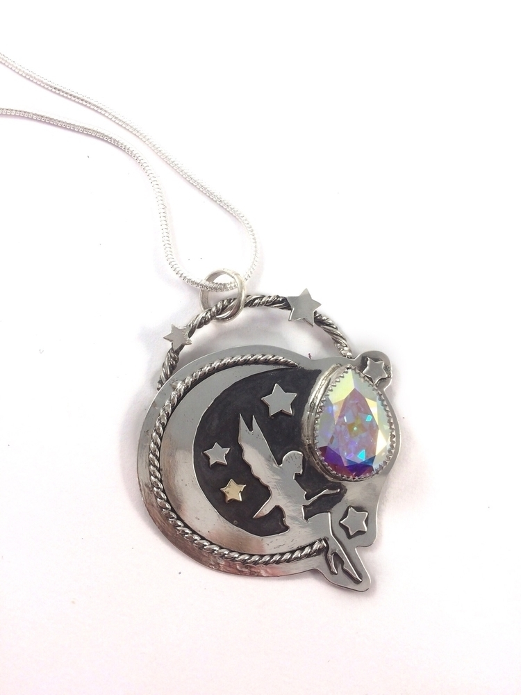 Finished Luna Fairy Pendant! pi - blaidddrwgdesigns | ello