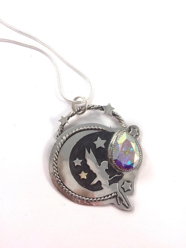Finished Luna Fairy Pendant! pi - blaidddrwgdesigns | ello