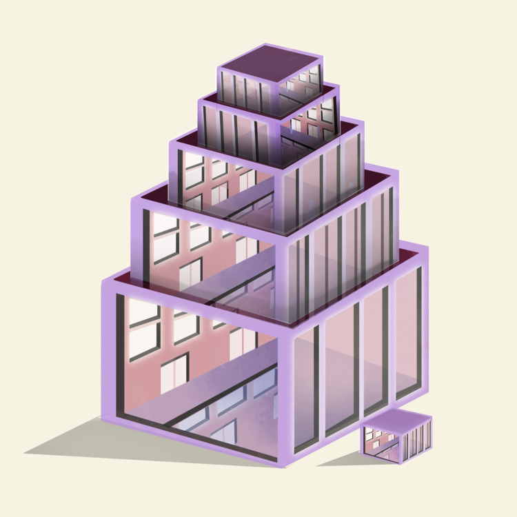 Pile 53/100 - the100dayproject, 100daysofinvertedcities - jenifferrivera | ello