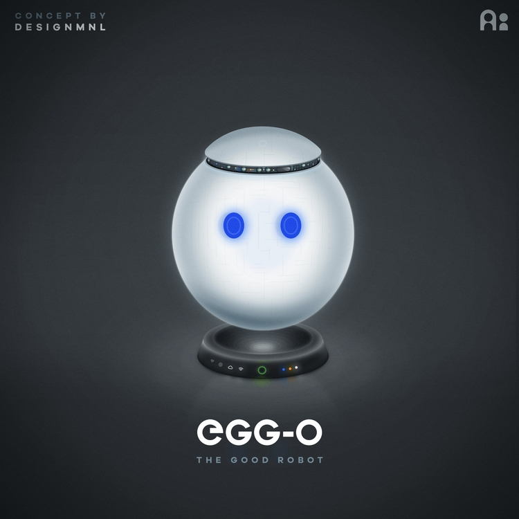 Meet good robot. Created Studio - designmnl | ello