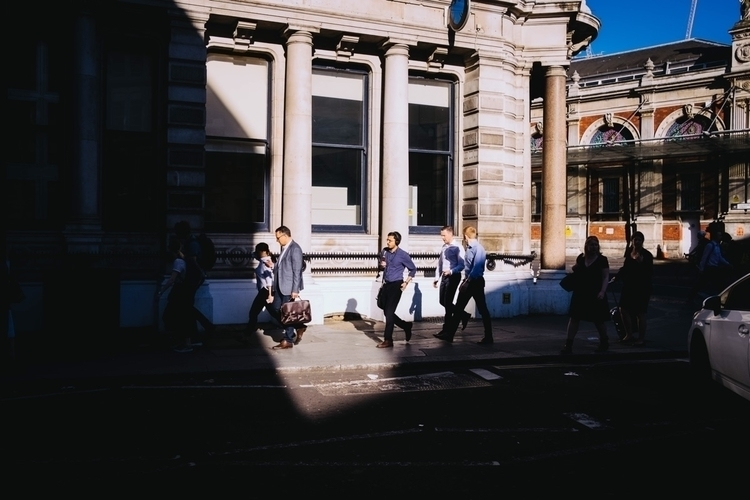 Farringdon - light, shadow, streetphotography - mattniblock | ello
