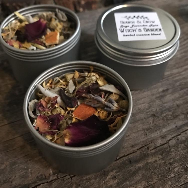 Garden herbal incense blend res - hearthandcrow | ello