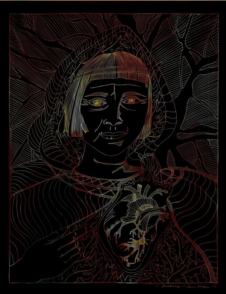 ᚼ::Gullveig, goddess transforma - veledavesta | ello