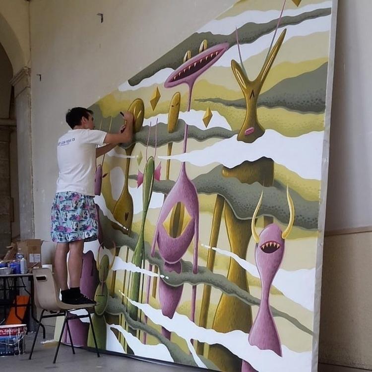 artist Nicolas Barrome Forgues  - helliongallery | ello