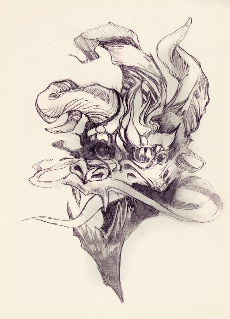 A4 pencil sketch - nottakeiron | ello