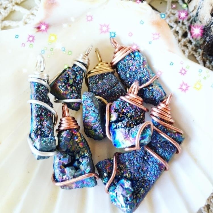 fairy worlds - Druzy, designer, fashion - mermaidtearshawaii | ello