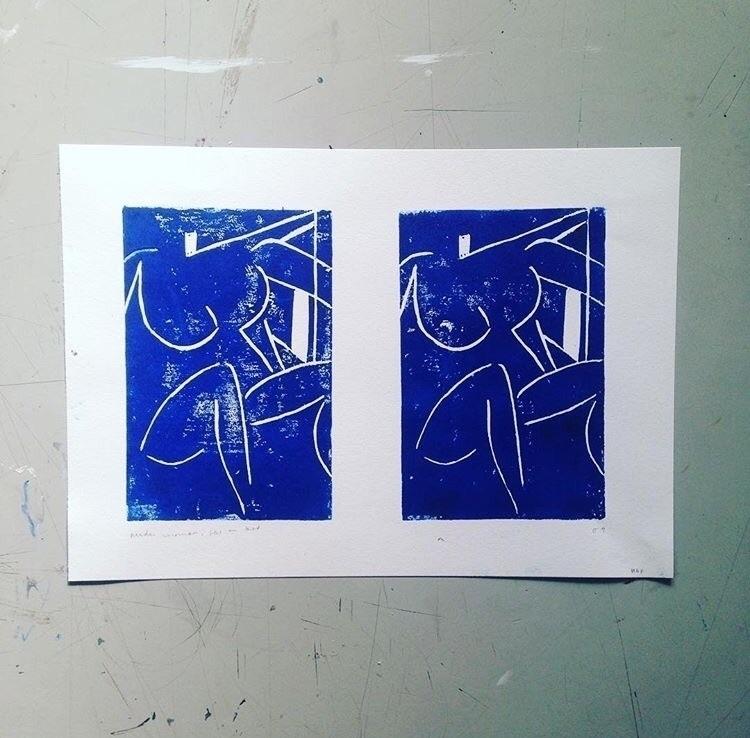 piece, Lino. 2016 - harrietevans | ello