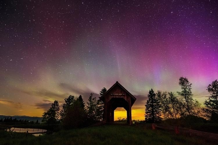 Northern Lights, Cabot Vermont  - markcollier | ello
