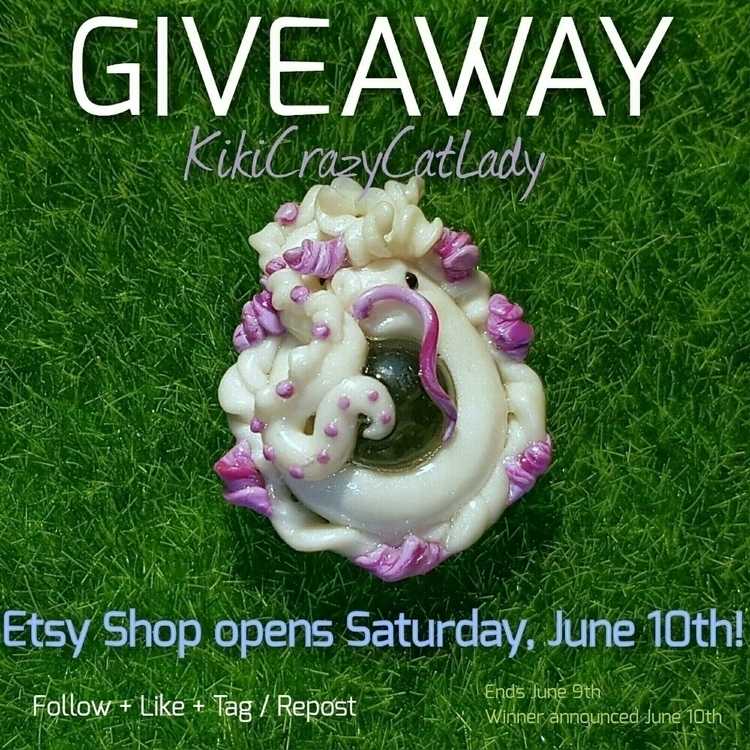 opening Etsy shop Saturday! cel - kikicrazycatlady | ello