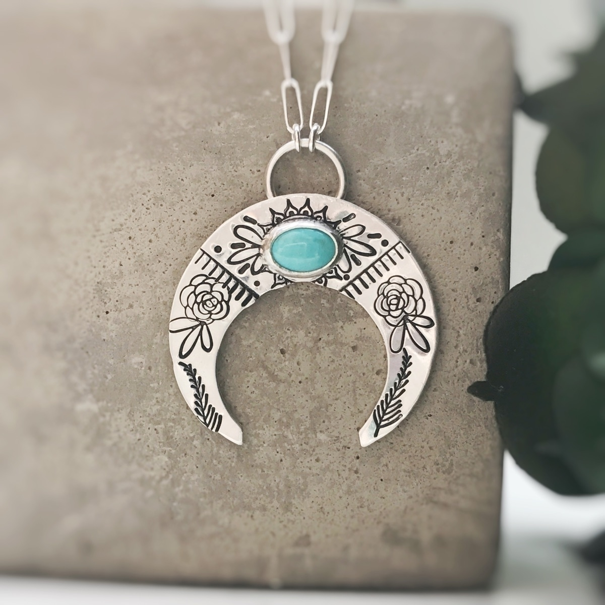 Sterling silver crescent perfec - rivervalleydesigns | ello