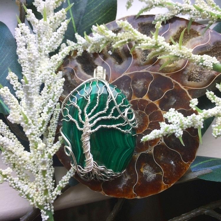 Malachite tree life - malachite - thecitrineforrest | ello