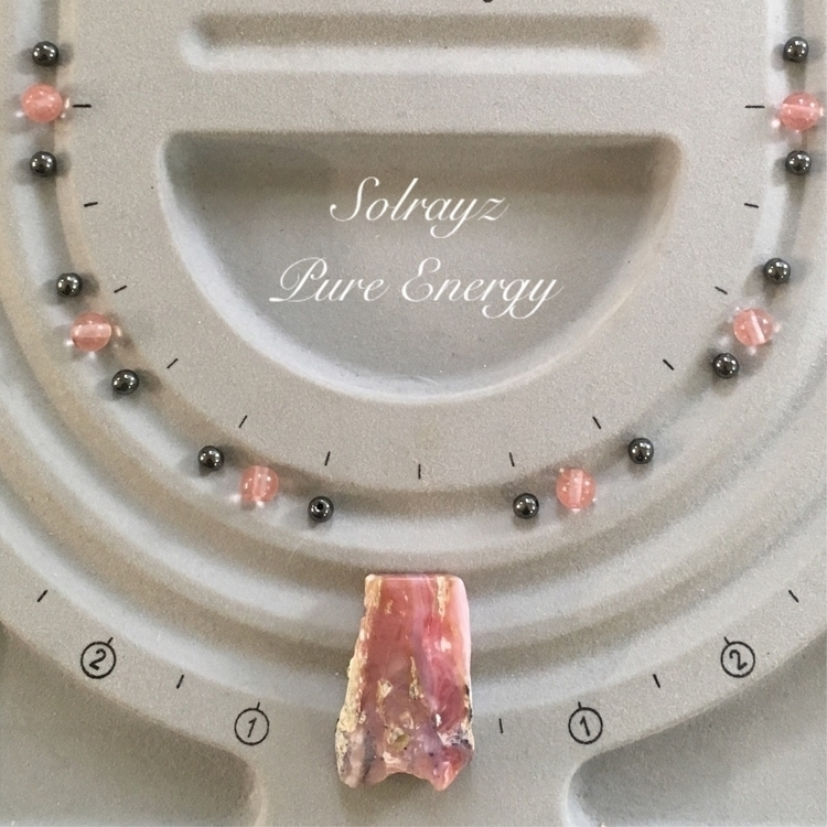 South African Pink Opal Pendant - solrayz | ello
