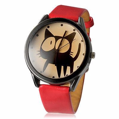 cute big eyes cat watch - mysuitableshop | ello