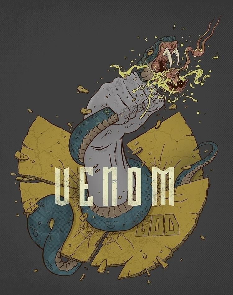 UGOD - Venom Album Promo Artwor - dres13 | ello