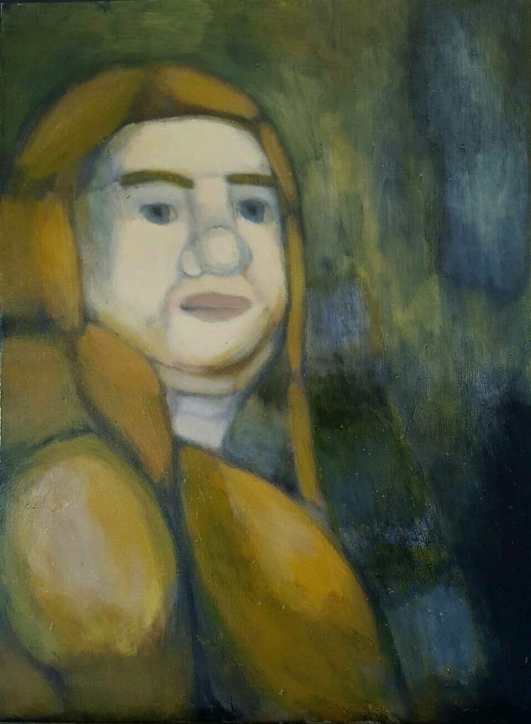 arrogant woman - Oil paint canv - shawnartist | ello
