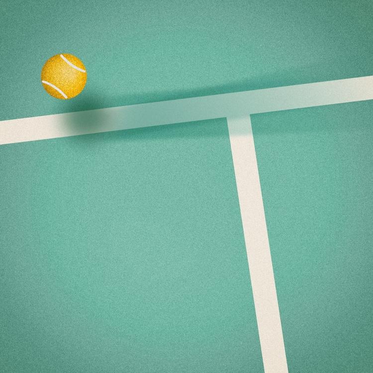 Tennis - 36 days type - iampommes   ello