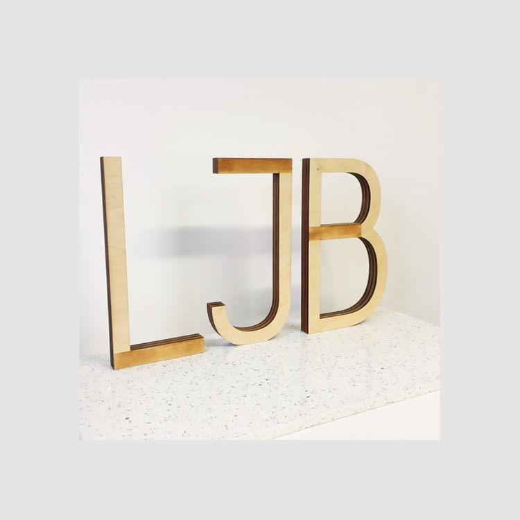 created wooden logo – 3mm Birch - ljbstudio | ello