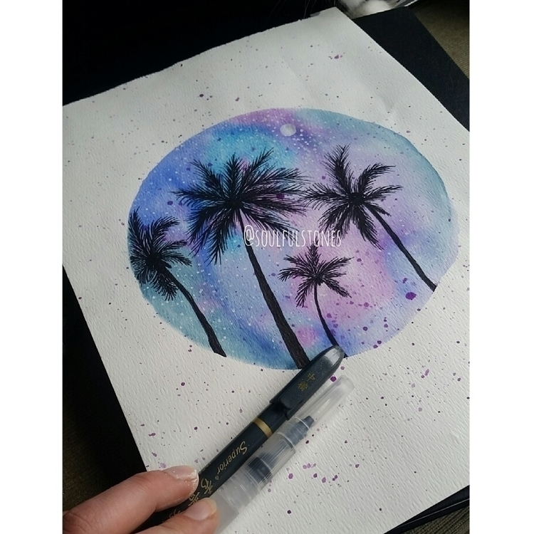 || Inspired travels palms - hawaiiisland - soulfulstones | ello