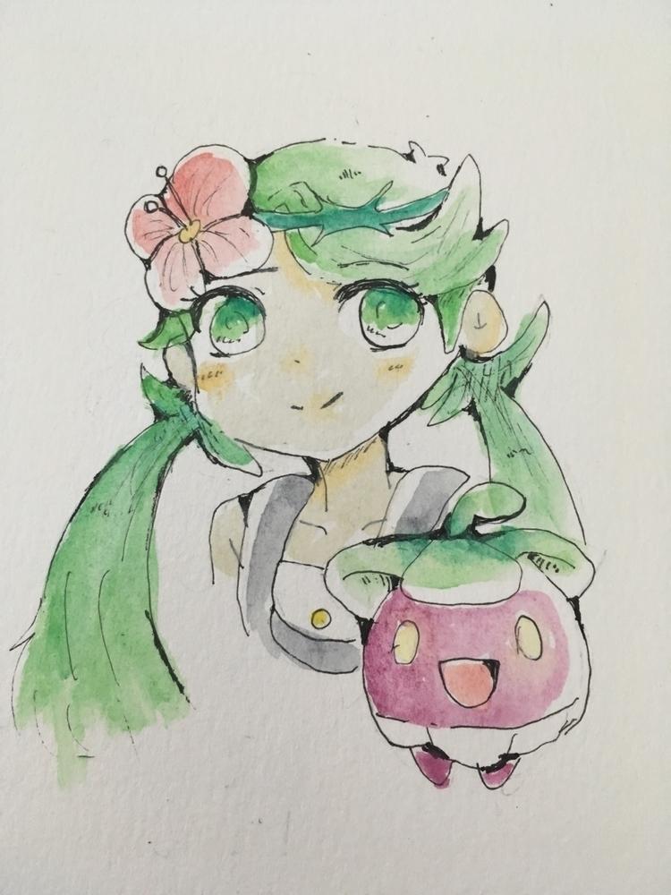 Mallow Pokémon sun moon - pokemon - jainilla | ello
