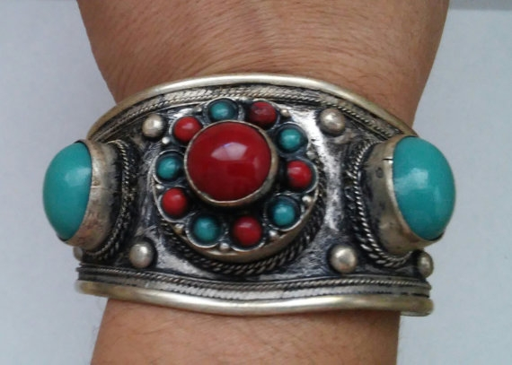 Bohemian Tibetan Turquoise Cora - jewelsbyvittoria | ello
