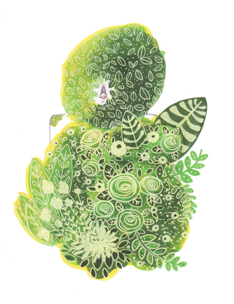 Hidden Foliage Copic Marker Ink - likelylexi | ello